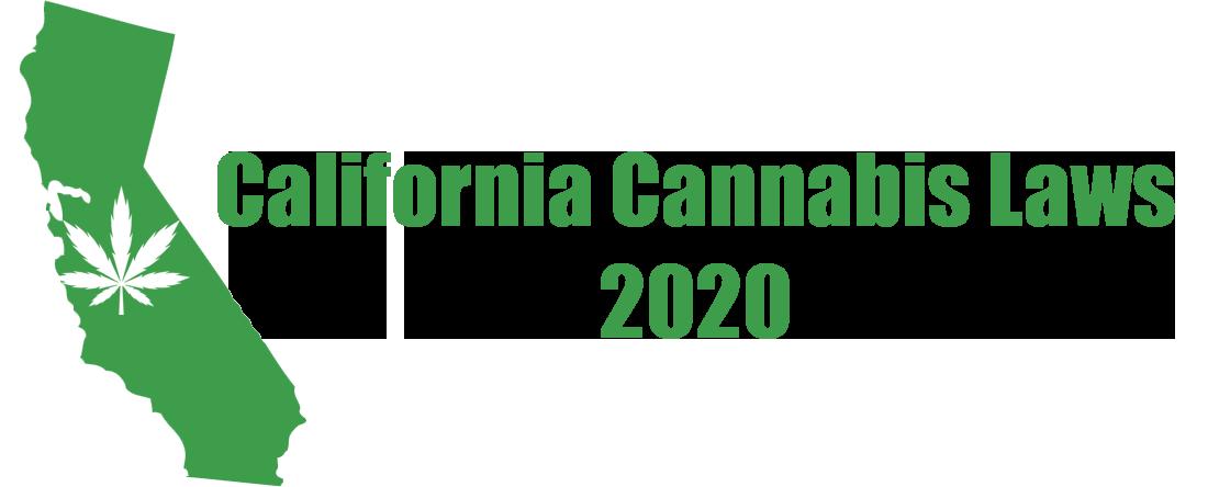 california cannabis laws 2020