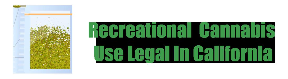 california recreational law