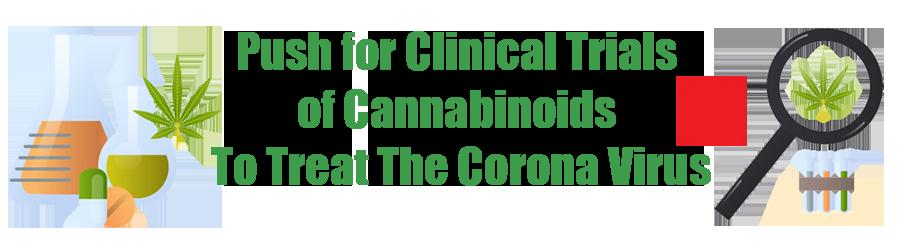 can weed heal the corona virus