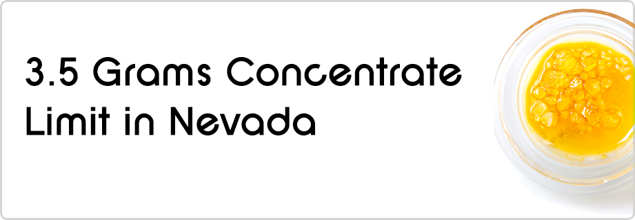 nevada cannabis concentrate law