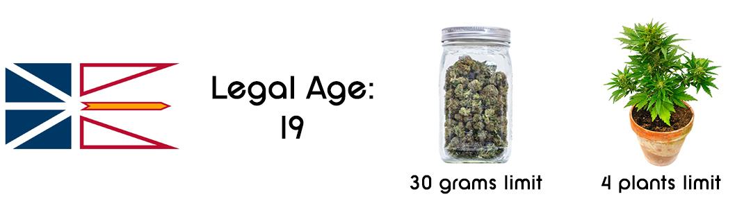 newfoundland and labrador cannabis laws