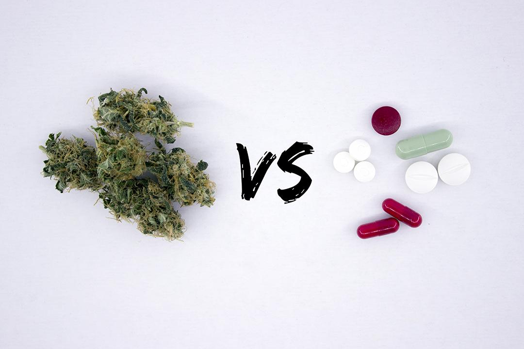 cannabis for pain vs pills