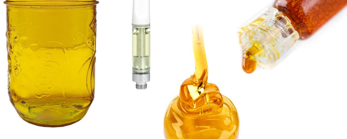 distillate thc oil