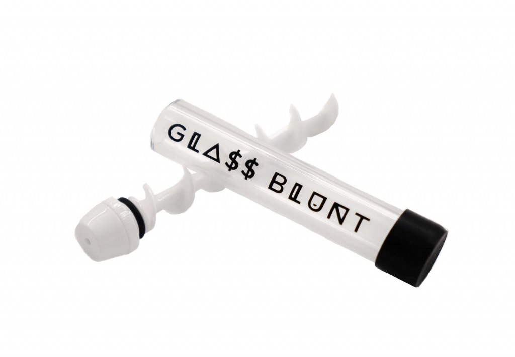 glass blunt pipe