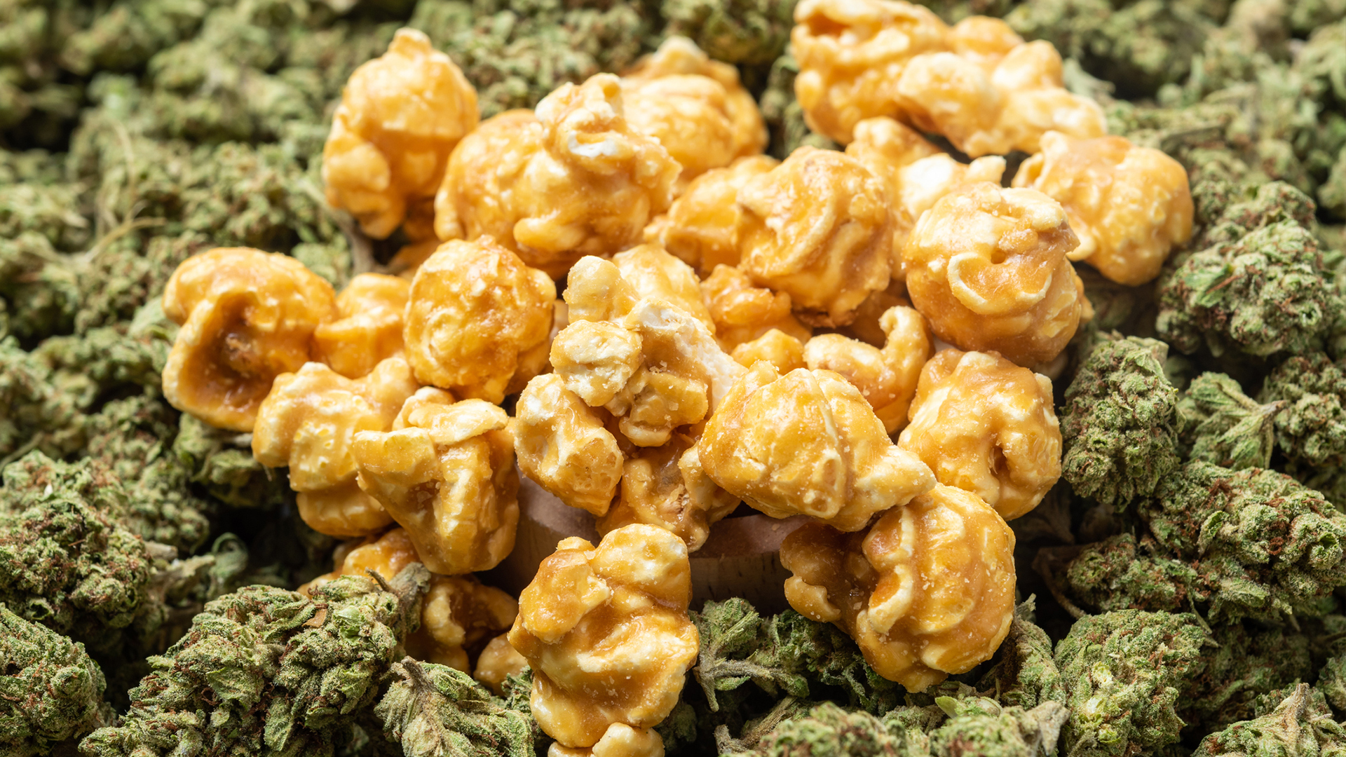 popcorn infused with thc