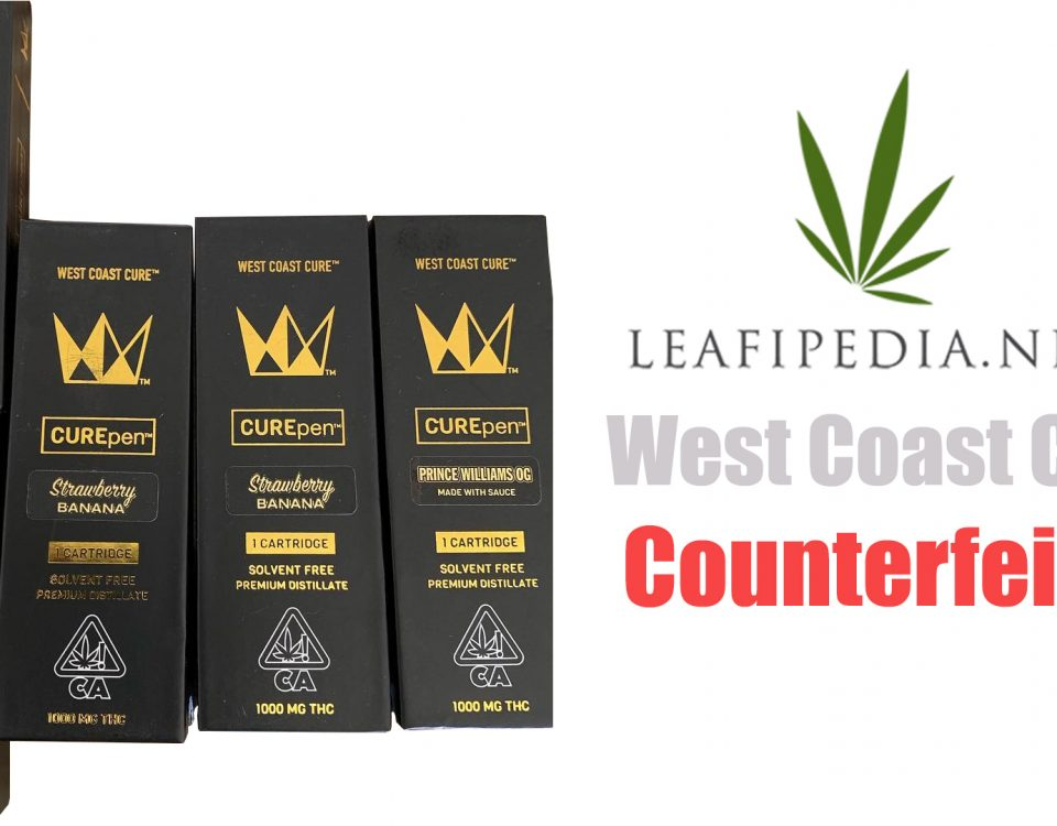 counterfeit west coast cure carts